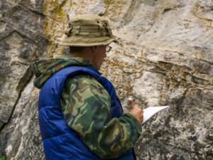 Drillers, geologists, and engineers have different methods of identifying top of bedrock.