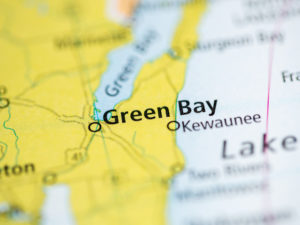 Kewaunee Green Bay Geophysics Bedrock Map 640x480