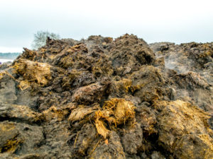 Solid manure waste has its own classification.